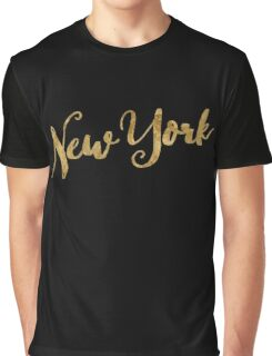 Golden Look New York Graphic T-Shirt