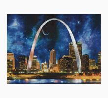 Spacey St. Louis Skyline Kids Tee