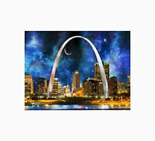 Spacey St. Louis Skyline Unisex T-Shirt