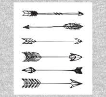 Arrows One Piece - Long Sleeve
