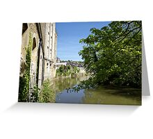 Abbey Mill, Bradford on Avon, Wiltshire, United Kingdom. Greeting Card