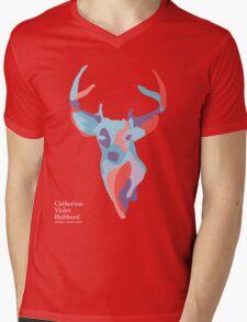 Catherine's Deer - Dark Shirts Mens V-Neck T-Shirt