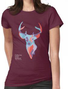 Catherine's Deer - Dark Shirts Womens Fitted T-Shirt