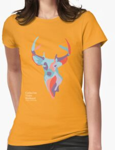 Catherine's Deer - Dark Shirts Womens Fitted T-Shirt
