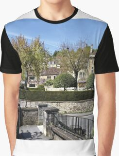 The Town of Bradford on Avon, Wiltshire, United Kingdom. Graphic T-Shirt