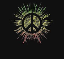 Tie Dye Peace Sign Rasta Unisex T-Shirt