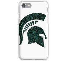 Glitter Spartan Helmet iPhone Case/Skin