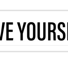 Love Yourself - Justin Bieber Sticker