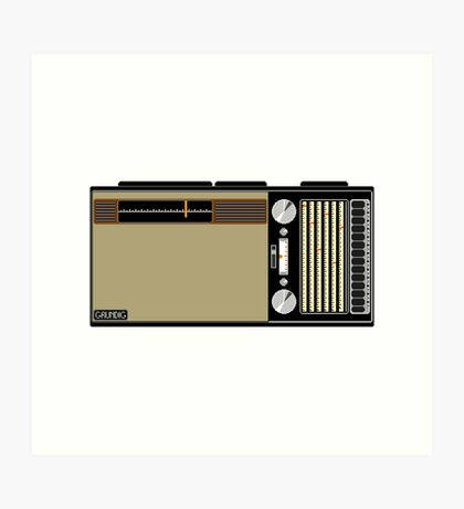 Pixel Radio 3 of 3 Art Print