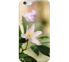 Wood Anemone iPhone Case/Skin