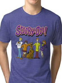 Scooby-Doo ! Familly Tri-blend T-Shirt