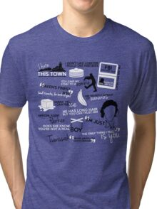 """""""Haven""""ly Quotes Tri-blend T-Shirt"""