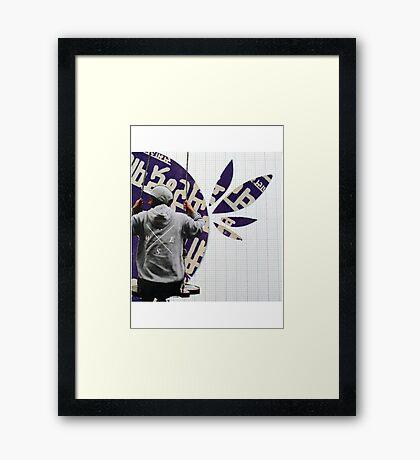 Chinese Swing Framed Print