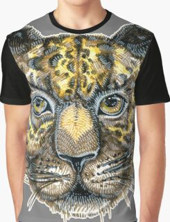 Panthera pardus, Linnaeus. big cat Graphic T-Shirt