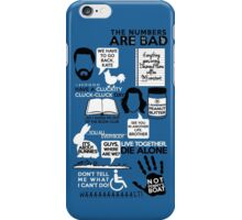 Lost Quotes iPhone Case/Skin