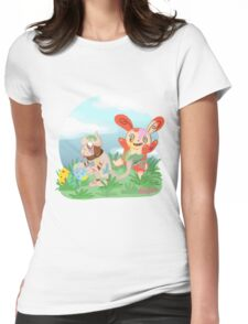 Easter Pokemon Egg Painting  Womens Fitted T-Shirt