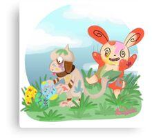 Easter Pokemon Egg Painting  Canvas Print