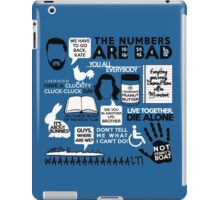 Lost Quotes iPad Case/Skin