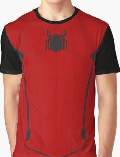 MCU Spiderman Hero Tee Graphic T-Shirt