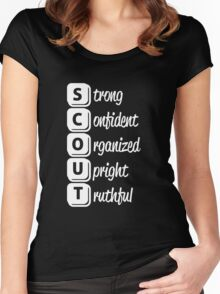 Scout Women's Fitted Scoop T-Shirt