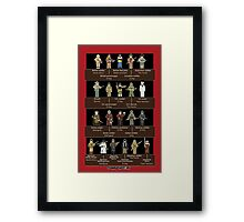 Soldiers of WWII (Simple History) Framed Print