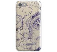 Cyber girl, a mixup iPhone Case/Skin