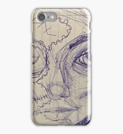 Cyber girl, a mixup iPhone Case/Skin