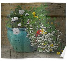 Yachats Oregon - Container Gardening Poster