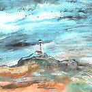A Lighthouse In Spain by Goodaboom