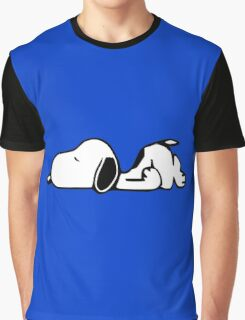 Snoopy Lazy Graphic T-Shirt