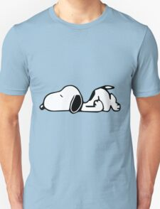 Snoopy Lazy Unisex T-Shirt