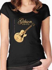 Gibson ES 175 Jazz Player Women's Fitted Scoop T-Shirt