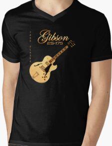 Gibson ES 175 Jazz Player Mens V-Neck T-Shirt