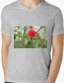 Bottle Brush Burst Mens V-Neck T-Shirt