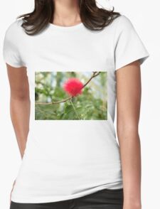 Bottle Brush Burst Womens Fitted T-Shirt