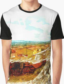 Arzachena: landscape and rock Graphic T-Shirt