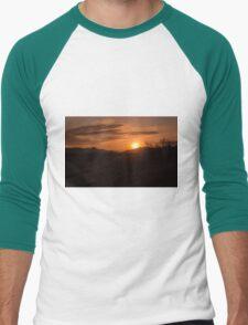 Sunset Reflection Men's Baseball ¾ T-Shirt
