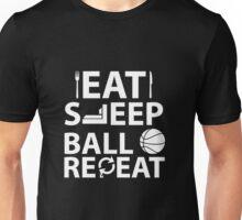 Eat, Sleep, Ball, Repeat Unisex T-Shirt