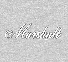 Marshall White One Piece - Long Sleeve