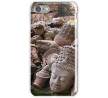 Lost Heads in the Terracotta Museum in Chiang Mai iPhone Case/Skin