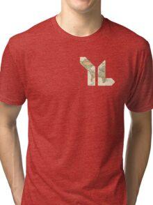 YL map Tri-blend T-Shirt