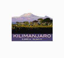 Mount Kilimanjaro Souvenir Design, in Vintage Travel Poster Style T-Shirt