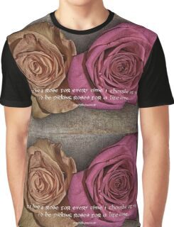 Friendship and Love Graphic T-Shirt