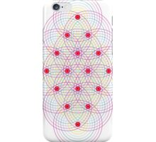 Tetractys - 144 Circles iPhone Case/Skin