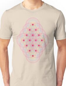 Tetractys - 144 Circles Unisex T-Shirt