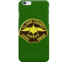 Clark County Sheriff Aero Squadron iPhone Case/Skin