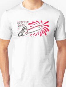 Butcher Baby on White Unisex T-Shirt