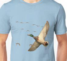 Mallard ducks Canadian geese  Unisex T-Shirt