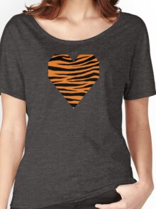 0550 Princeton Orange Tiger Women's Relaxed Fit T-Shirt