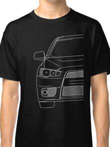 Evo 10 outline - white Classic T-Shirt